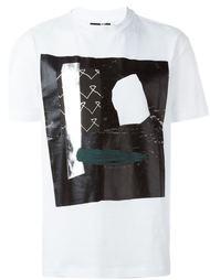 футболка с абстрактным принтом McQ Alexander McQueen