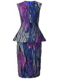 платье с баской Christian Siriano