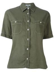 рубашка с короткими рукавами Céline Vintage