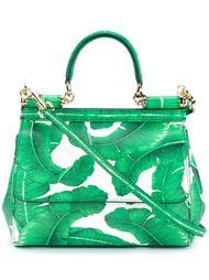 сумка с банановыми листьями Dolce & Gabbana