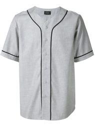 рубашка с контрастной окантовкой  Stampd