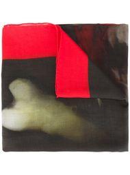 шарф с принтом черепа и перекрещенными костями Givenchy