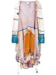 крестьянское платье с V-образным вырезом Chloé