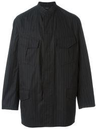 пиджак в полоску Hermès Vintage