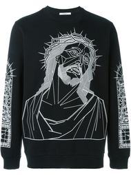 толстовка с принтом 'Christ' Givenchy