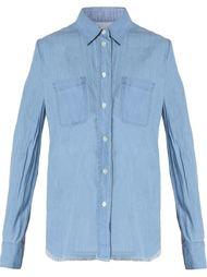 джинсовая рубашка  Raquel Allegra