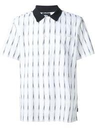 футболка-поло с мелким узором Stussy