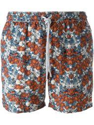 плавательные шорты с цветочным принтом Capricode