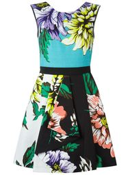 multi floral print dress Marco Bologna