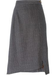 полосатая асимметричная юбка Vivienne Westwood Red Label