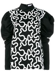 блузка с пышными рукавами J.W. Anderson