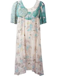платье с принтом  Tsumori Chisato