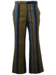 полосатые укороченные брюки Ports 1961