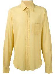 рубашка с мятым эффектом Romeo Gigli Vintage