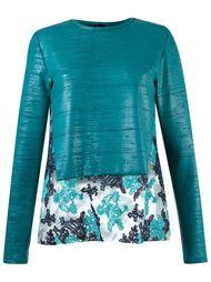 panelled blouse Fernanda Yamamoto