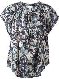 блузка с принтом и оборками  Iro
