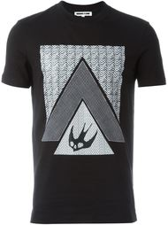 футболка 'Swallow Glyph' McQ Alexander McQueen