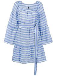 платье мини в полоску Lisa Marie Fernandez