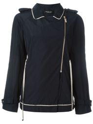 куртка со смещенной застежкой-молнией Twin-Set