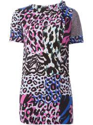 блузка 'Wild Patch' с короткими рукавами Versace