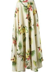 long lenght floral skirt Isolda