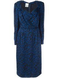 платье с леопардовым принтом Nina Ricci Vintage