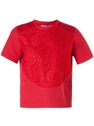кружевная футболка  Christopher Kane
