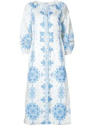 tile print tunic dress Vilshenko