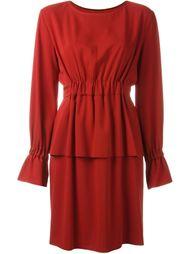 платье с эластичным поясом Mm6 Maison Margiela