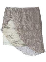 асимметричная мини юбка Romeo Gigli Vintage