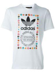 футболка с графическим принтом Adidas