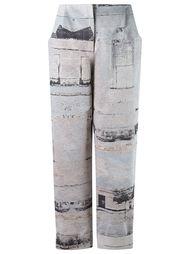 high waisted cropped trousers Fernanda Yamamoto