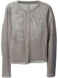 фактурная куртка без воротника Drome