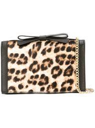 сумка через плечо с леопардовым принтом Boutique Moschino