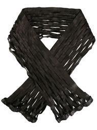 шарф в сетку Ma+