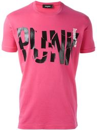 футболка с принтом 'Punk' Dsquared2