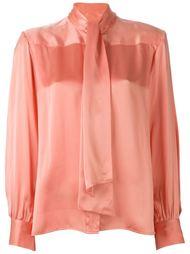 рубашка с бантом Céline Vintage