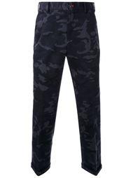 брюки с камуфляжным принтом  Loveless