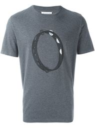 футболка с принтом бубна  Maison Margiela
