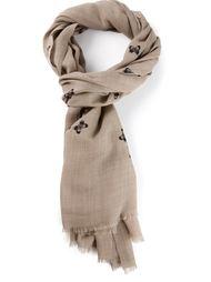 шарф с принтом с бабочками Bottega Veneta