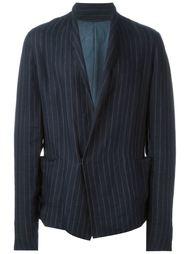 пиджак в тонкую полоску Ma+