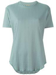 футболка в рубчик Romeo Gigli Vintage