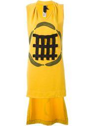 платье 'Bananas' с удлиненной панелью сзади Bernhard Willhelm