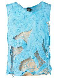 sleeveless lace blouse Fernanda Yamamoto