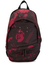 стеганый рюкзак с графическим принтом Maison Margiela