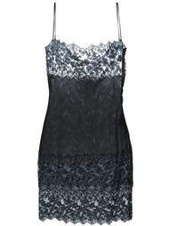 платье с кружевной бейкой Romeo Gigli Vintage
