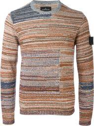 свитер с узором  Stone Island Shadow Project