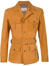 куртка с поясом Maison Margiela