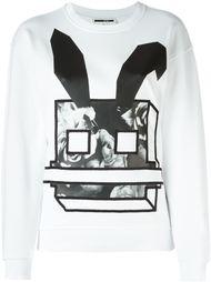 толстовка Electro Bunny McQ Alexander McQueen