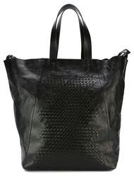 сумка-тоут с плетеной отделкой Vic Matie